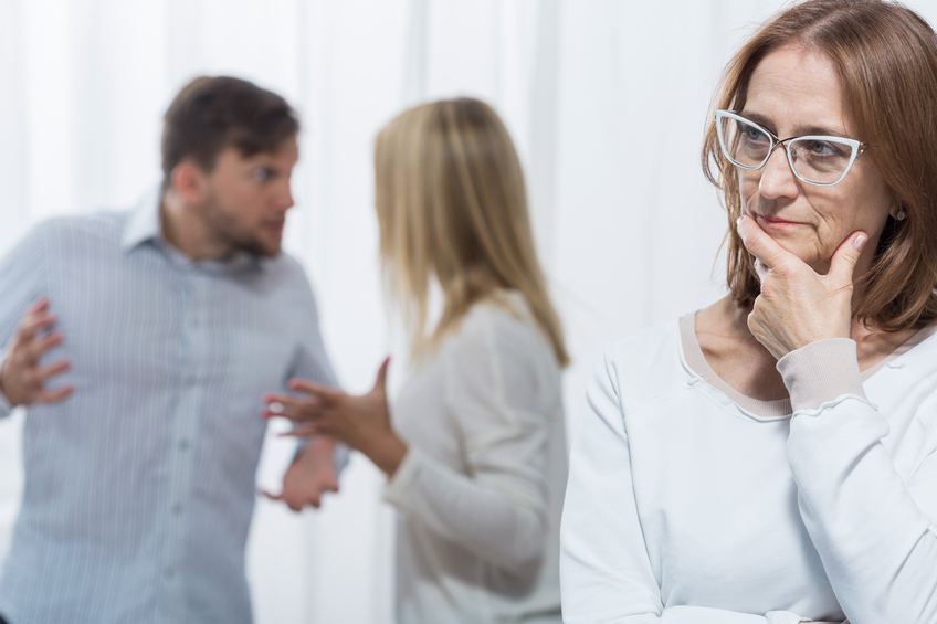 Psychologist is concerned about conflict in family